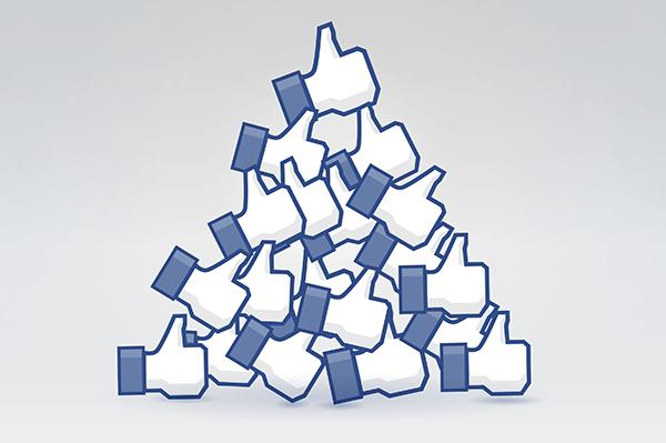 Facebook Daumen nach oben