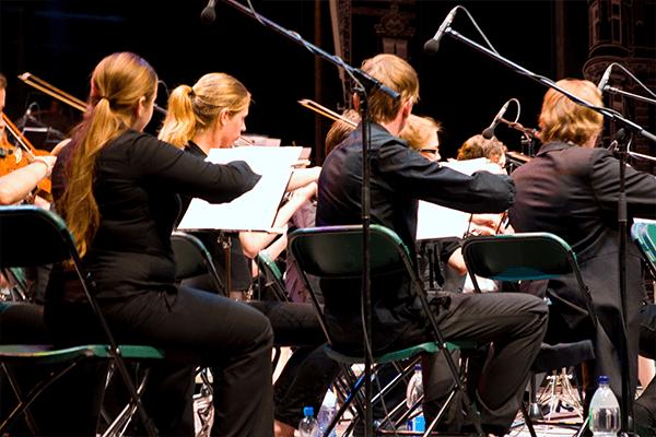Aufnahmen Extern Orchester