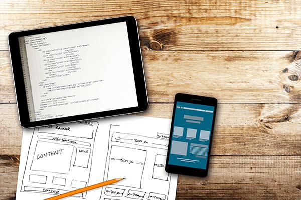 Webentwicklung Planung