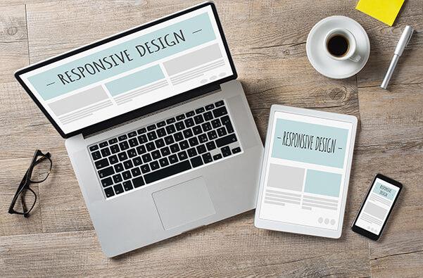 Responsive Webdesign Individuell Optimiert Desktop Tablet Smartphone Handy